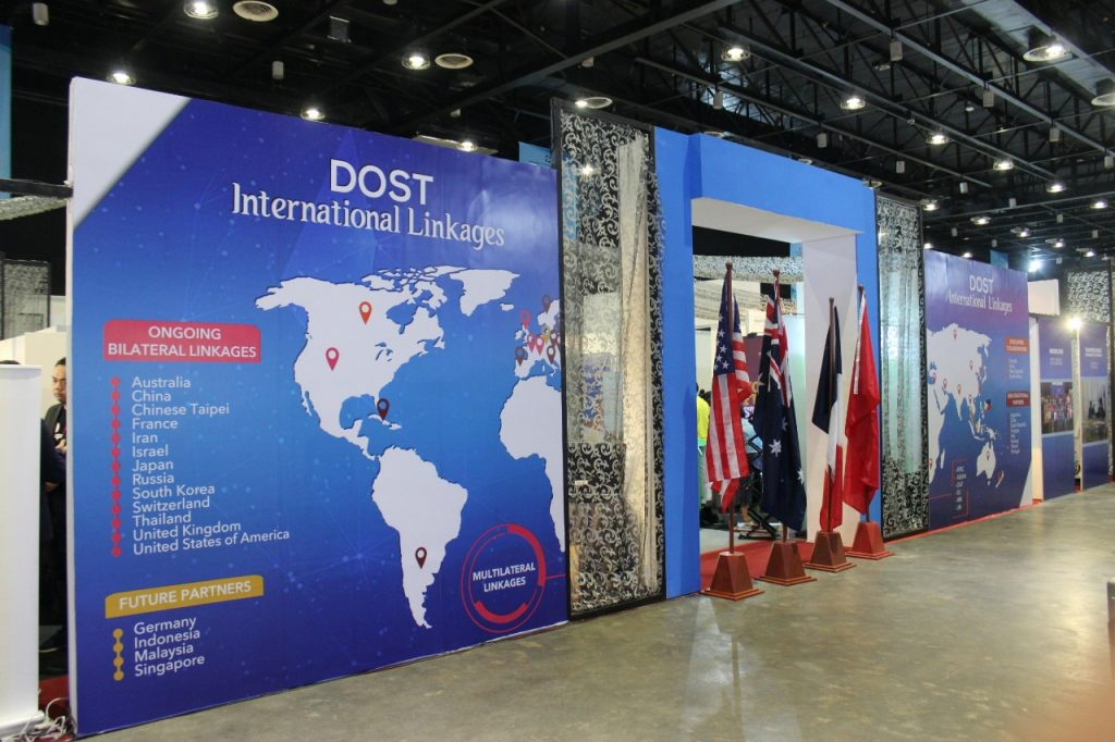 DOST International Linkage entrance
