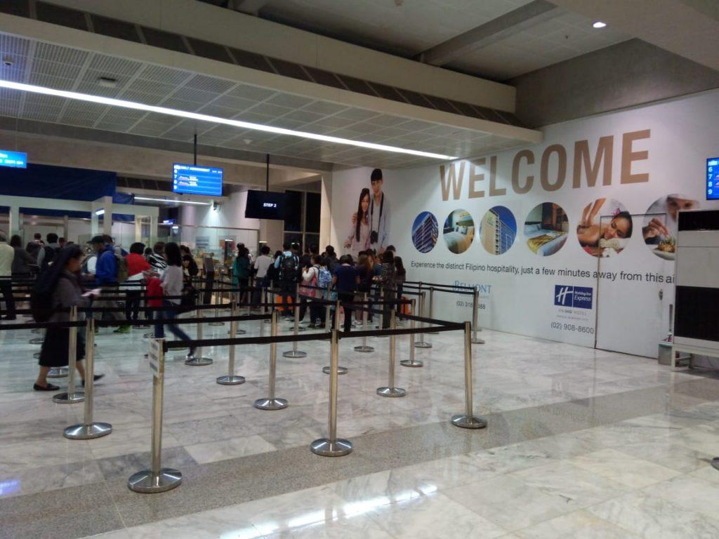 Touch down Ninoy Aquino International Airport
