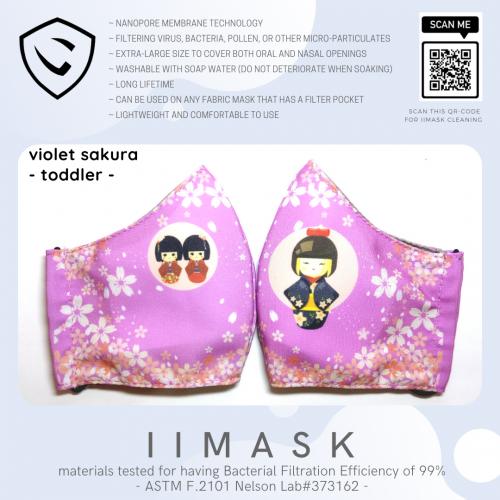 violet sakura toddler