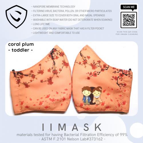 coral plum toddler